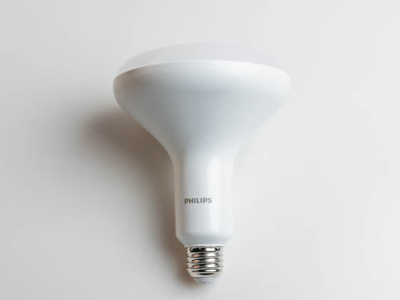Philips Lighting 457010 10BR40/LED/827-22/DIM 120V Philips Dimmable 8.8W Warm Glow 2700K to 2200K BR40 LED Bulb