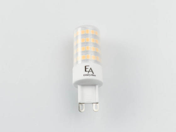 EmeryAllen EA-G9-5.0W-001-279F-D Dimmable 5W 120V 2700K 90 CRI T3 LED Bulb, G9 Base, Enclosed Fixture Rated, JA8 Compliant