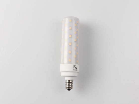 EmeryAllen EA-E12-9.5W-001-279F-D Dimmable 9.5W 120V 2700K T4 LED Bulb, E12 Base, Enclosed Rated