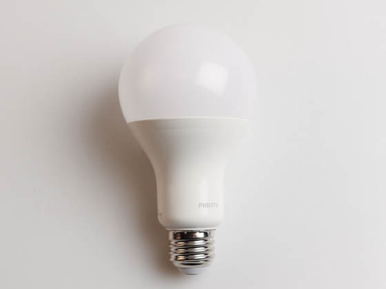 Philips Lighting 479899 16A21/PER/830/P/E26/DIM Philips Dimmable 16W 3000K A21 LED Bulb, Enclosed Rated