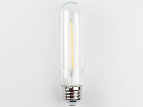 MaxLite 1409894 F4T10DLED927/JA8 Maxlite Dimmable 4W 2700K T10 LED Filament Bulb, JA8 Compliant, Enclosed and Outdoor Rated