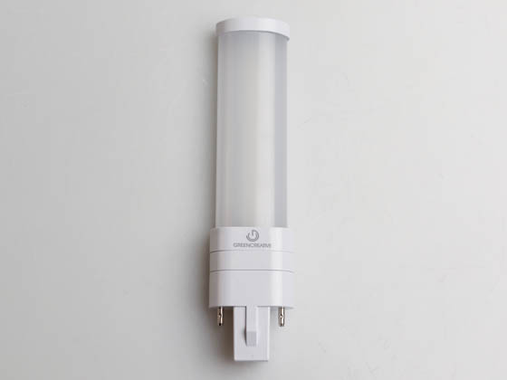 Green Creative 57813 3.5PLS/830/HYB/G23 3.5W 2 Pin 3000K G23 Hybrid LED Bulb, Rated For Enclosed Fixtures