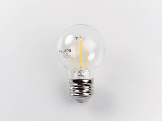 Philips Lighting 478768 4.5G16.5/PER/827/CL/G/E26/DIM Philips Dimmable 4.5W 2700K G-16.5 Filament LED Bulb, Outdoor Rated