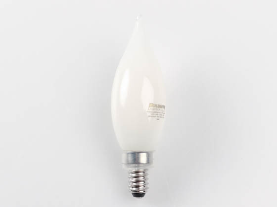 Bulbrite 776860 LED3CA10/27K/FIL/M/3 Dimmable 3.6W 2700K Decorative Frosted Filament LED Bulb, Enclosed Rated