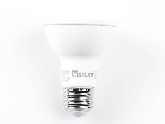 MaxLite 102647 7P20NDV50FL Maxlite Non-Dimmable 7W 5000K 40° PAR20 LED Bulb, Enclosed Rated