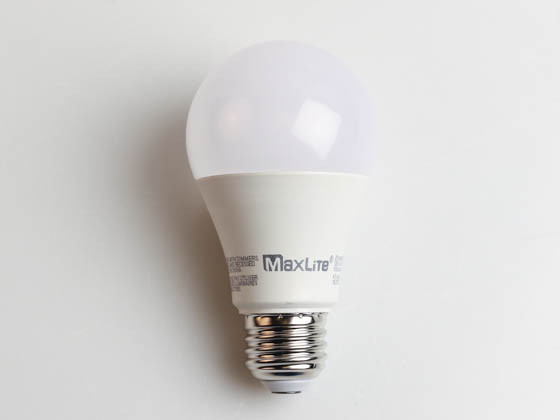 MaxLite 102576 E11A19NDV30 Maxlite Non-Dimmable 11W 3000K A19 LED Bulb, Enclosed Fixture Rated