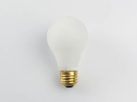 Halco Lighting HAL6142 6142-A19RS75/CS Halco CoverShield 75W 130V A19 Rough Service Safety Coated Bulb, E26 Base
