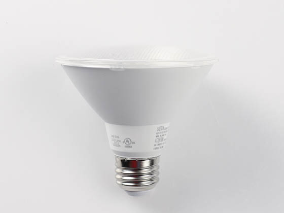 TCP LD13P30SD2530KNFLCQ 13W Dimmable 3000K 25° PAR30S LED Bulb, JA8 Compliant, Wet Rated