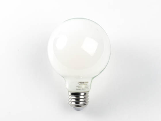 Philips Lighting 478859 5G25/PER/827/FR/G/DIM Philips Dimmable 5W 2700K G25 LED Bulb, Outdoor Rated