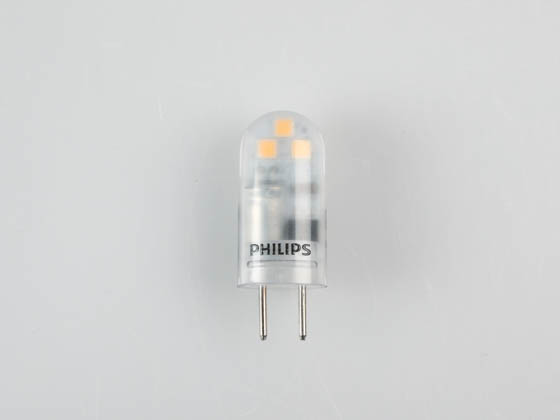 Philips Lighting 477240 2T3/PER/830/ND/GY6.35/12V Philips Non-Dimmable 2W 12V 3000K T3 LED Bulb, GY6.35 Base, Enclosed Rated, Title 20 Compliant