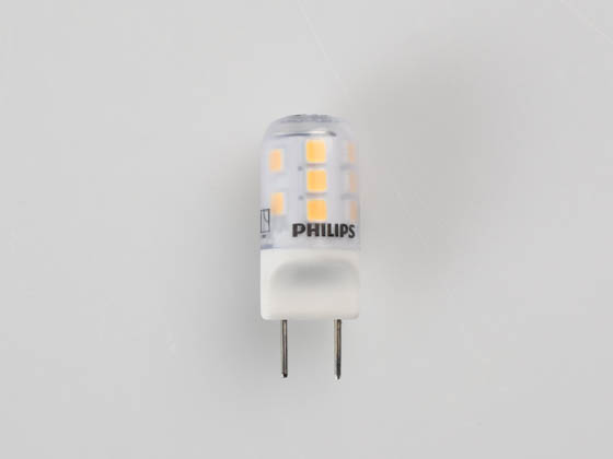 Philips Lighting 477208 2.2T3/PER/830/ND/G8/120V Philips Non-Dimmable 2.2W 3000K T4 LED Bulb, G8 Base, Enclosed Rated, Title 20 Compliant
