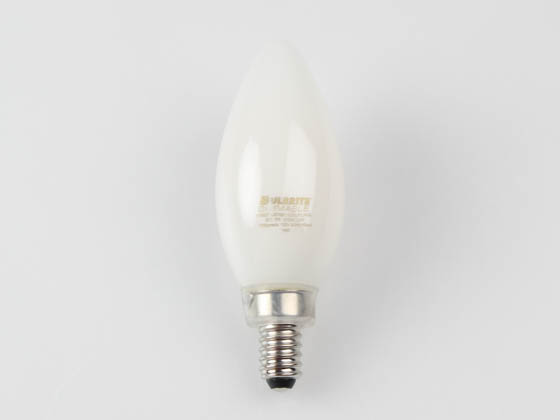 Bulbrite 776888 LED5B11/30K/FIL/M/3 Dimmable 5W 3000K Decorative Filament LED Bulb, Enclosed Fixture Rated