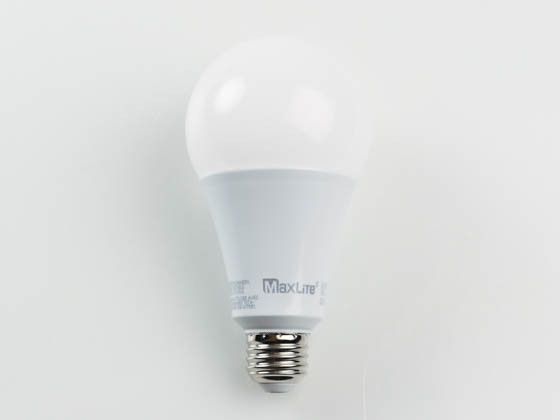 MaxLite 102727 26A23ND40 Maxlite Non-Dimmable 26W 4000K 120-277V A23 LED Bulb