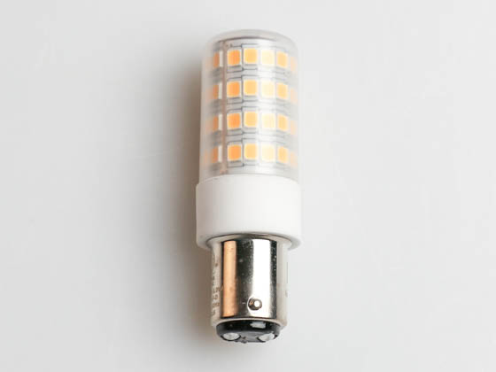 EmeryAllen EA-BA15D-5.0W-121-309F-D Dimmable 5W 120V 3000K T3 LED Bulb, BA15d Base, Enclosed Rated, JA8 Compliant