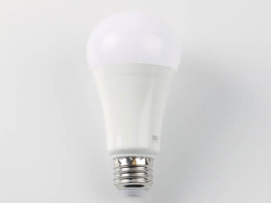 90+ Lighting SE-350.051 Dimmable 14 Watt 2700K 92 CRI A21 LED Bulb, JA8 Compliant