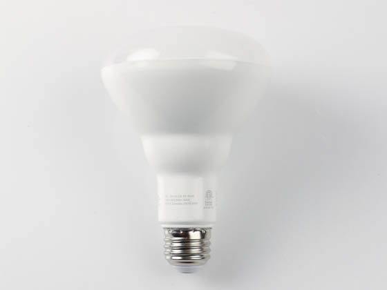 90+ Lighting SE-350.023 Dimmable 9 Watt 2700K 93 CRI BR30 LED Bulb, JA8 Compliant & Enclosed Rated