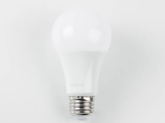 Cree Lighting A19-60W-P1-50K-E26-U1 Cree Pro Series Dimmable 10W 5000K A19 LED Bulb, 90 CRI, Title 20 Compliant, Enclosed Fixture Rated