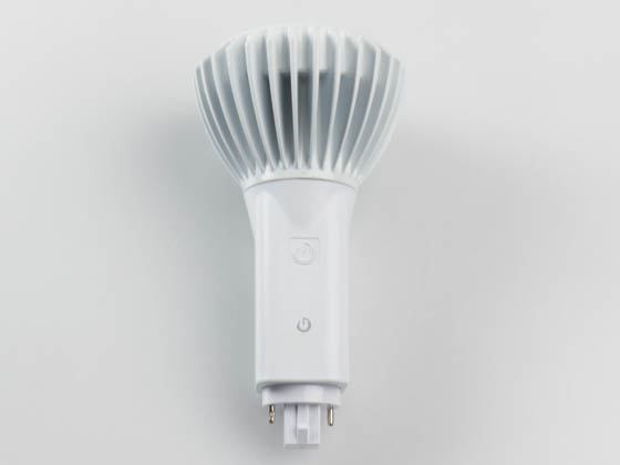 Green Creative 98257 16.5PLV/835/BYP 16.5W 2 or 4 Pin Vertical 3500K G24 Base LED Bulb, Ballast Bypass