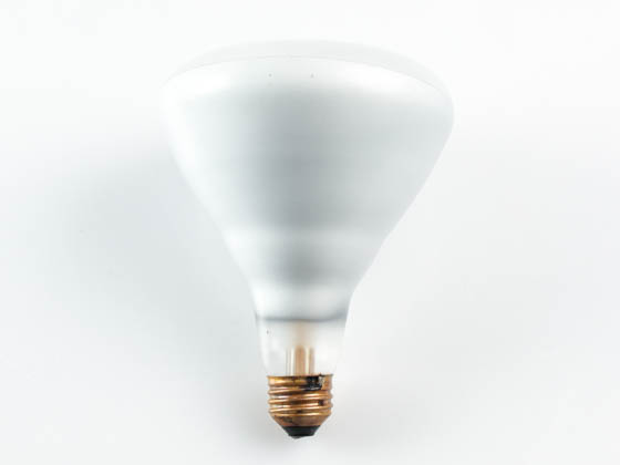 Sylvania 149527 (Safety) 125BR40 (Safety) 125 Watt, 120 Volt BR40 Clear Safety Coated Reflector Bulb. WARNING:  THIS BULB IS NOT TO BE USED NEAR LIVE BIRDS.