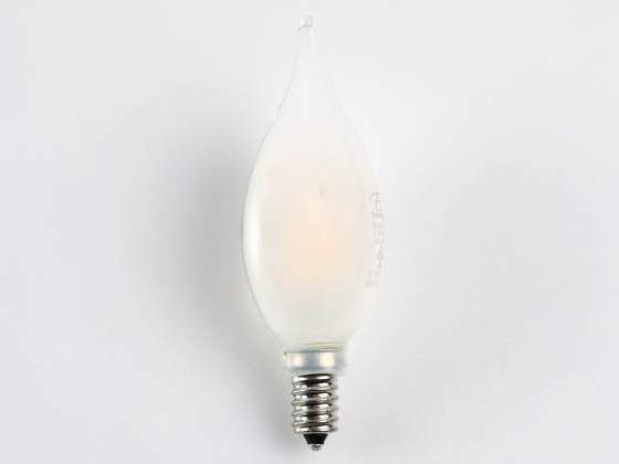 Euri Lighting VBA10-3020ef-4 Dimmable 4.5W 2700K Decorative Frosted Filament LED Bulb, Enclosed and Wet Rated