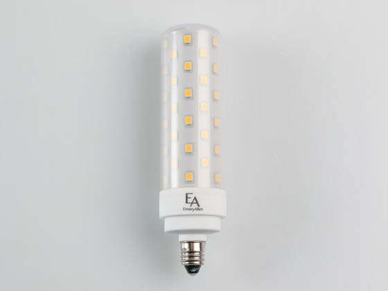 EmeryAllen EA-E11-9.5W-001-309F-D Dimmable 9.5W 120V 90 CRI T3 3000K LED Bulb, E11 Base, Enclosed Rated