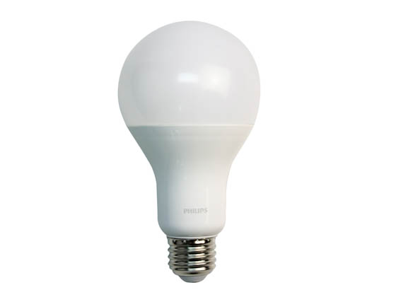 Philips Lighting 479485-2 16A21/PER/827-22/P/E26/WG 6/1FB T20 Philips Dimmable 16W Warm Glow 2700K-2200K 90 CRI A21 LED Bulb, Enclosed Fixture Rated, Title 20