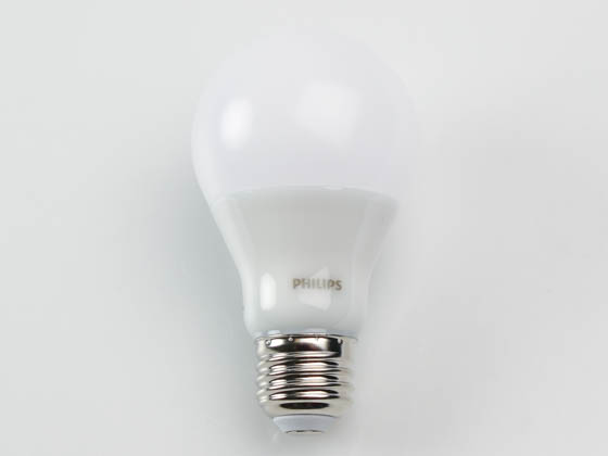 Philips Lighting 479428-2 5A19/PER/927-22/P/E26/WG 6/1FB T20 Philips Dimmable 5W Warm Glow 90 CRI 2700K-2200K A-19 LED Bulb, Enclosed Fixture Rated, Title 20 Compliant