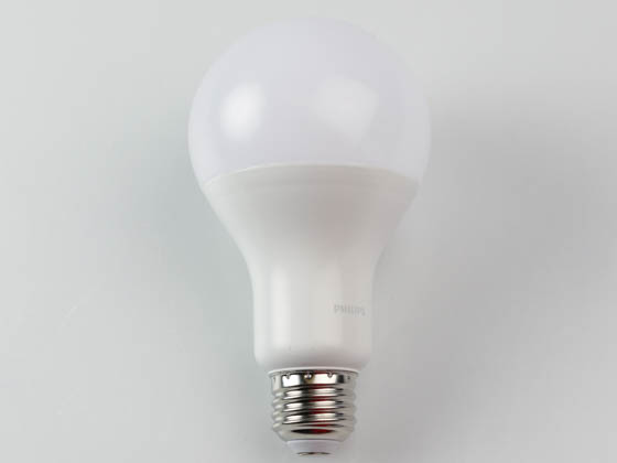 Philips Lighting 547091 12.2A21/PER/940/P/E26/DIM 6/1FB T20 Philips Dimmable 12.2W 90 CRI 4000K A21 LED Bulb, Enclosed Fixture Rated, Title 20 Compliant