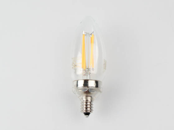 Philips Lighting 549337 5.5B11/PER/927-922/CL/G/E12/WGX 1FB T20 Philips Dimmable 5.5W Warm Glow 2700K-2200K 90 CRI Decorative LED Bulb, E12 Base, Wet Rated, Title 20 Compliant