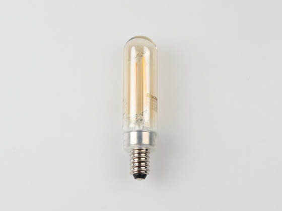 Bulbrite 776904 LED2T6/21K/FIL-NOS/3 Dimmable 2.5W 2100K Vintage T6 Filament LED Bulb, Enclosed Fixture Rated