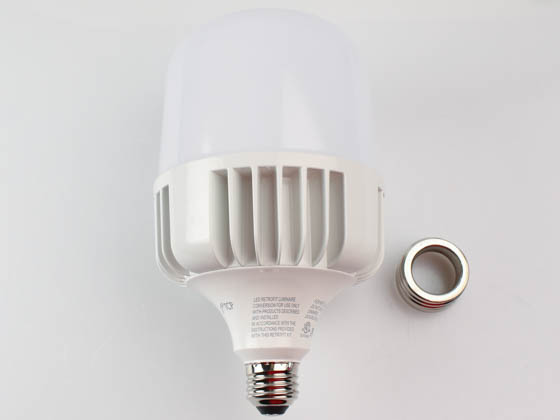 TCP LHID15040 Non-Dimmable 40W 4000K T-140 High Bay LED Bulb, Ballast Bypass, Enclosed and Wet Rated