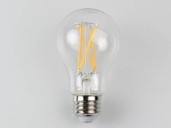 MaxLite 102275-2 EF8.5A19D927/JA8 Maxlite Dimmable 8.5W 2700K A19 Filament LED Bulb, 91 CRI, JA8 Compliant, Enclosed Fixture and Wet Rated