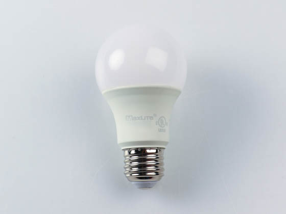 MaxLite 14099401-8 E11A19DLED40/G8 Maxlite Dimmable 11W 4000K A19 LED Bulb, Enclosed Fixture Rated