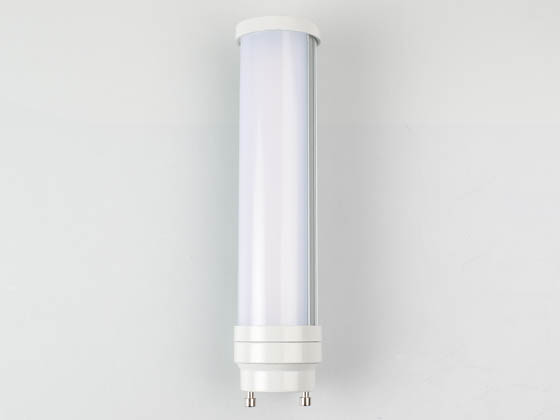 Satco Products, Inc. S8745 8W/H/LED/CFL/827/GU24 Satco Non-Dimmable 8W 2700K GU24 Base LED Bulb, Ballast Bypass