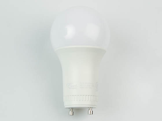 Euri Lighting EA19-8W2050eG-2 Dimmable 8W 5000K A19 LED Bulb, GU24 Base, Enclosed Fixture Rated