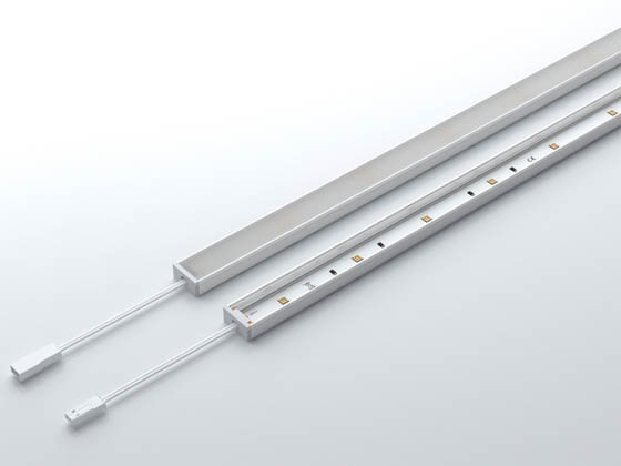 Euri Lighting EUV-CBL1160 Euri UV Disinfectant Undercabinet Fixture With General 6000K Lighting
