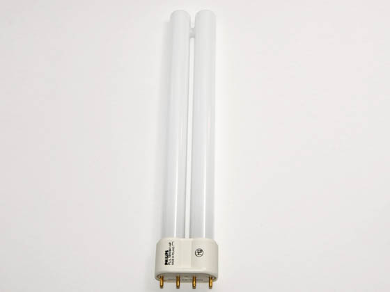 Philips Lighting 345017 PL-L 18W/41  (4-Pin) Philips 18W 4 Pin 2G11 Cool White Long Single Twin Tube CFL Bulb