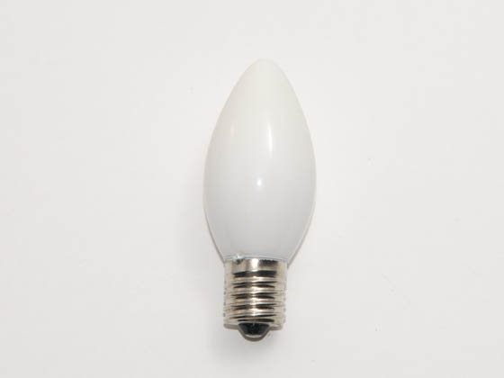 Value Brand LBD103 7C9N CW (130V) 7 Watt, 130 Volt C9 White Indicator Bulb