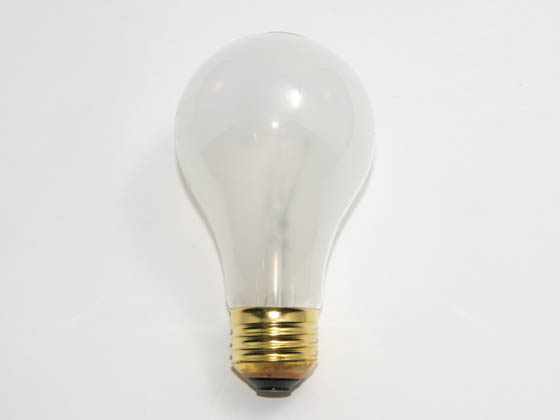 Philips Lighting 222489 60A19/35 (130V) Philips 60 Watt, 130 Volt A19 Frosted Long Life Bulb