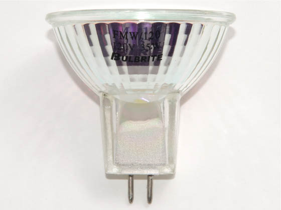 Bulbrite 620035 Q35MR16FL/FMW (120V) 35W 120V MR16 Halogen Flood FMW Bulb