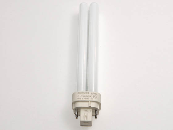 Philips Lighting 383372 PL-C 26W/841/4P/ALTO (4 Pin) Philips 26W 4 Pin G24q3 Cool White Double Twin Tube CFL Bulb