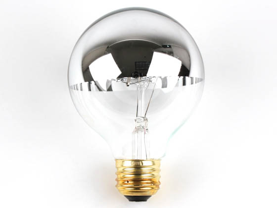 mirrored lighting. E26 Bulbrite 712336 60G25HM (Half Mirror) 60W 120V G25 Half Mirror Globe Bulb, Mirrored Lighting