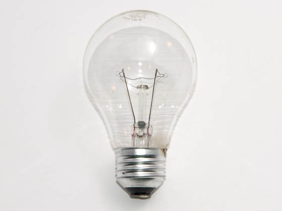 Philips Lighting 219527 50A19/31 (120V Oven) Philips 50 Watt, 120 Volt A19 Clear Oven/Appliance Bulb