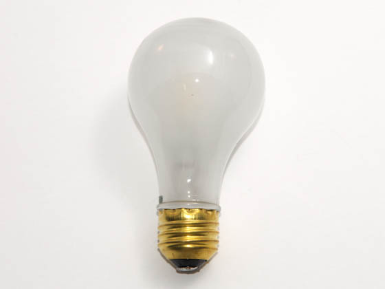 Bulbrite 615072 72A/CAP 72 Watt, 120 Volt MB19 Frosted Post Lamp Bulb