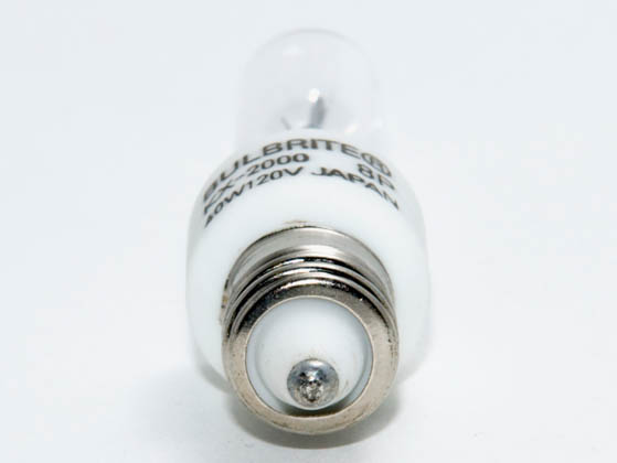 Bulbrite B473140 KX40CL/MC KX2000 40W 120V T3 Clear Chroma Bulb, E11 Base