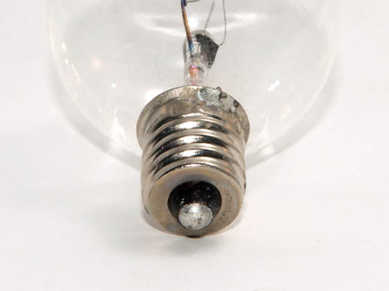 Bulbrite B461015 KR15G11CL 15W 120V Clear Krypton G11 Globe Decorative Bulb, E12 Base