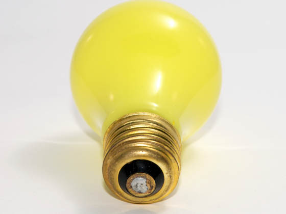 Bulbrite B106825 25A/CY (Yellow) 25W 120V A19 Yellow E26 Base