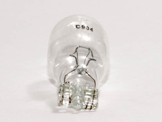 CEC Industries C904 904 CEC 9.3 Watt, 13.5 Volt, 0.69 Amp Miniature T-5 Automotive Bulb