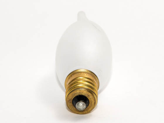Bulbrite B404210 10CFF/20 10W 130V C7 Frosted Decorative Bulb, E12 Base