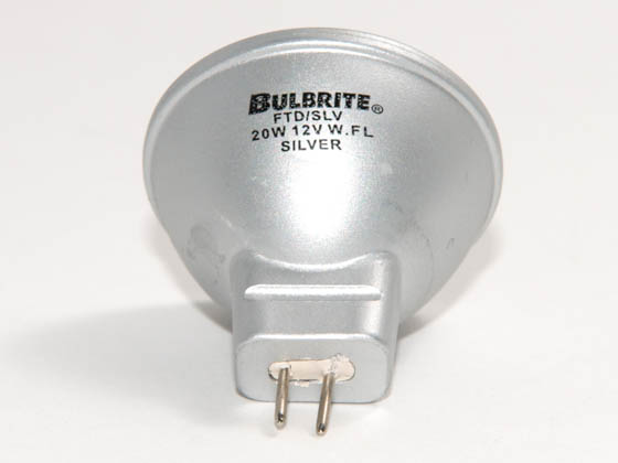Bulbrite B638201 FTD/SLV  (12V) 20W 12V MR11 Halogen Flood FTD Bulb